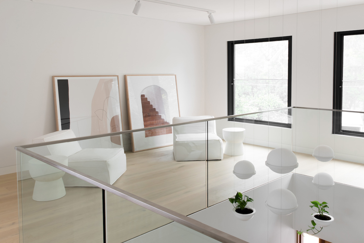 Vibia Palmas at JDA Studio's Double Void House