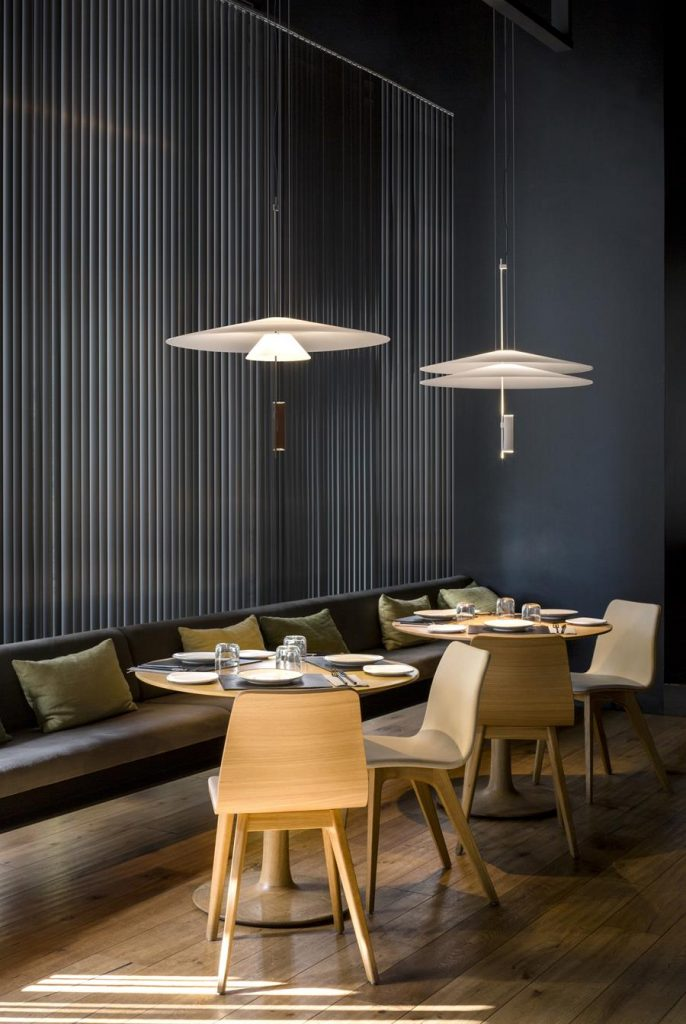 Flamingo pendants by Vibia