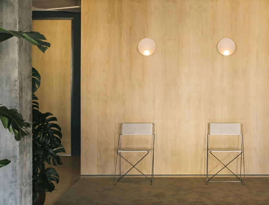 Musa wall lamps by Vibia