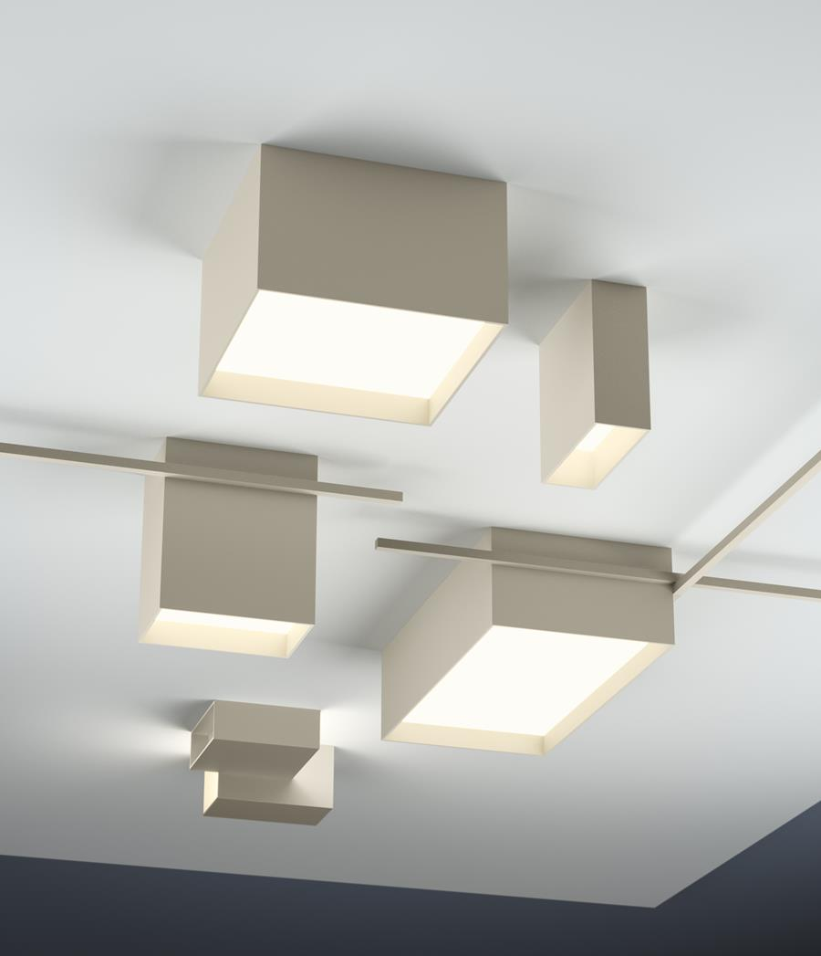 Structural skylights by Vibia
