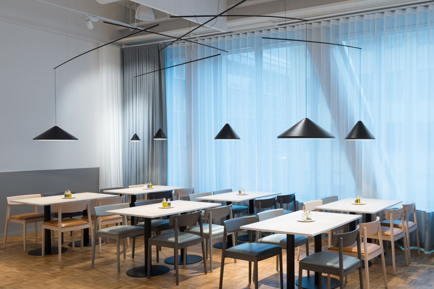 North pendants by Vibia