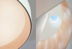 Duo skylights by Vibia