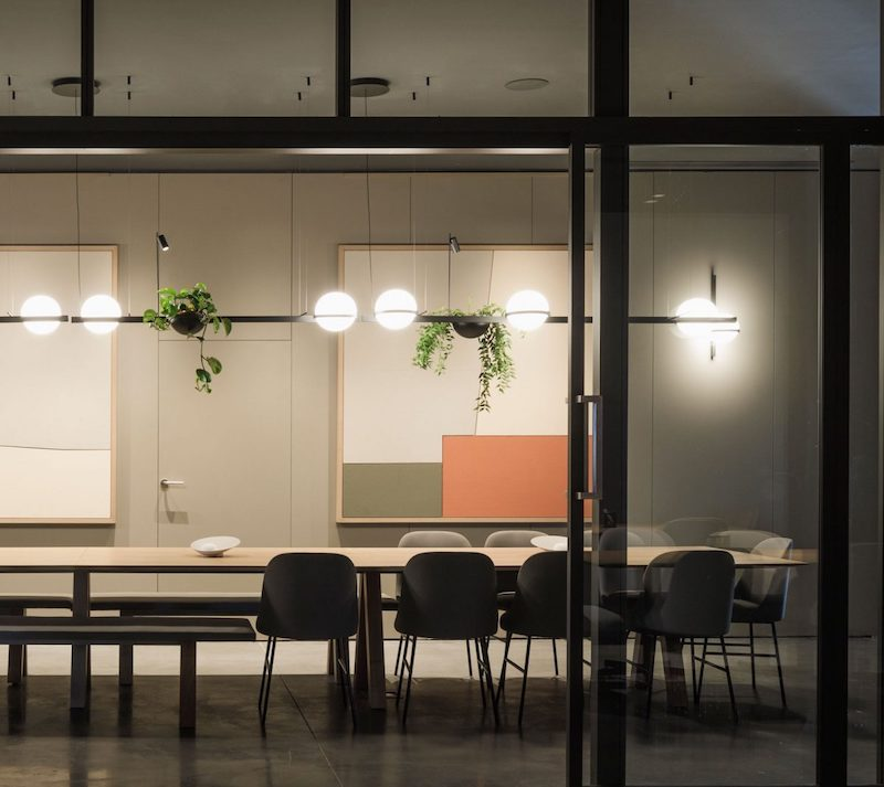 Palma Horizontal pendants by Vibia