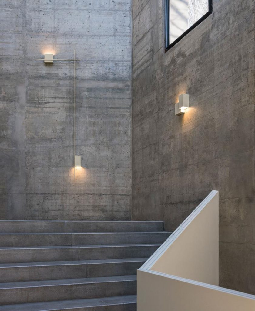 Structural wall light by Vibia