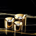 New gold finishes on the Puck range by Arkoslight