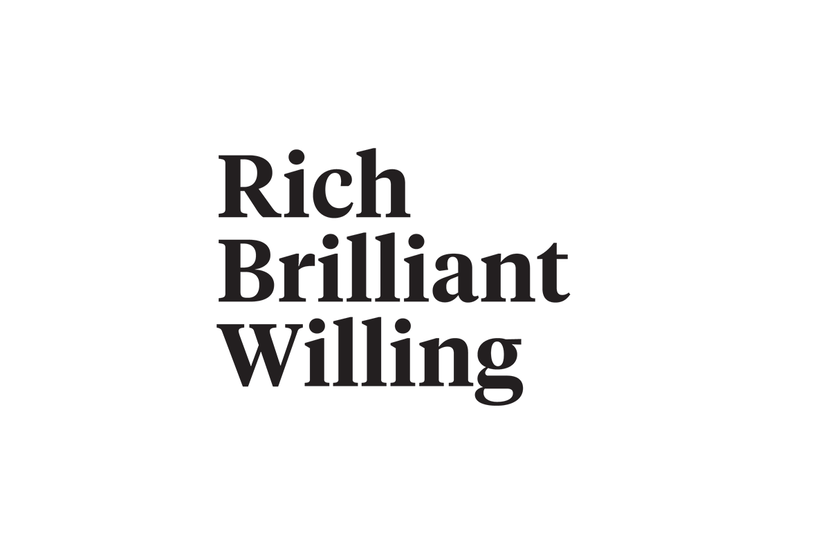 rich brilliant willing logo