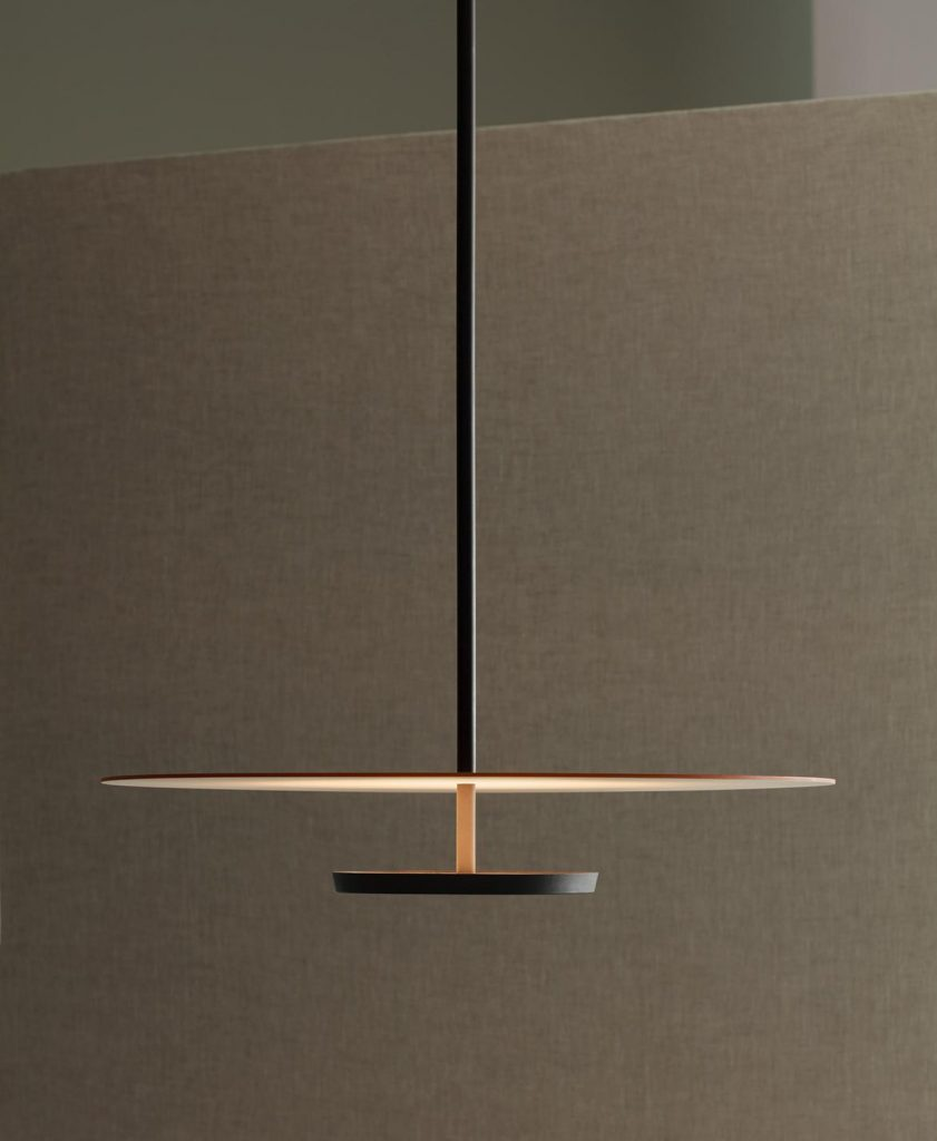 Flat pendant by Vibia