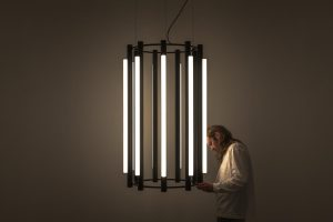 Pipeline Chandelier by ANDLight