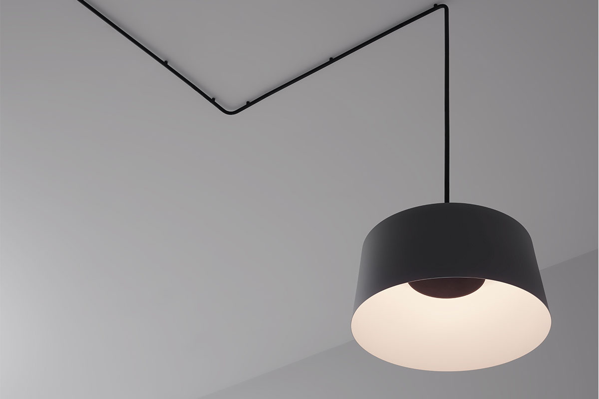 Tube modular ceiling lamp by Vibia