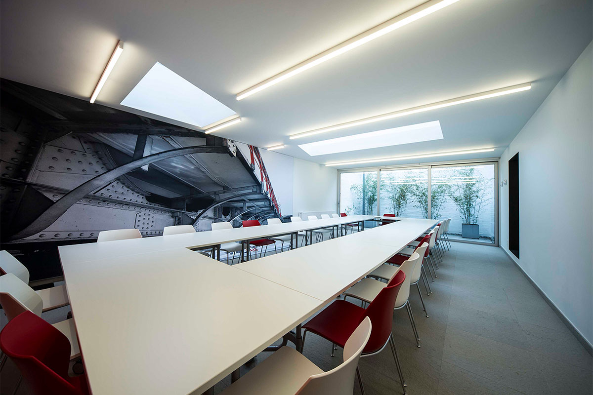 Ninza linear ceiling lamps by DARK