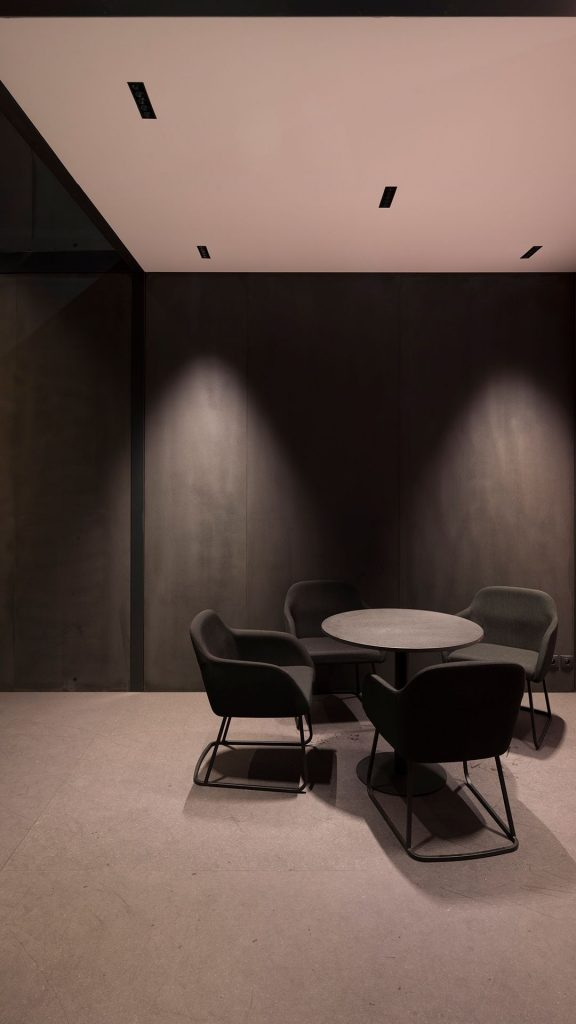 Black Foster invisible downlights
