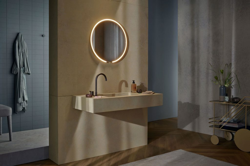 Mito sfera lighted mirror