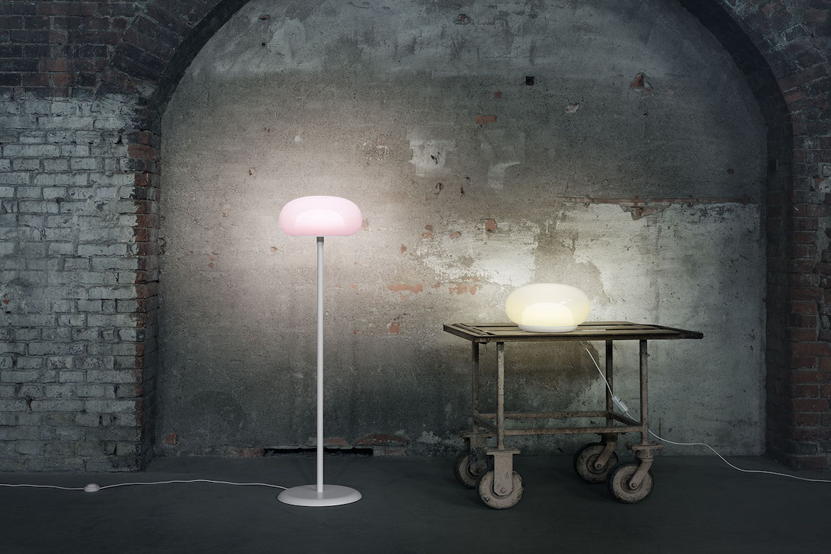 Mist floor and table lamps