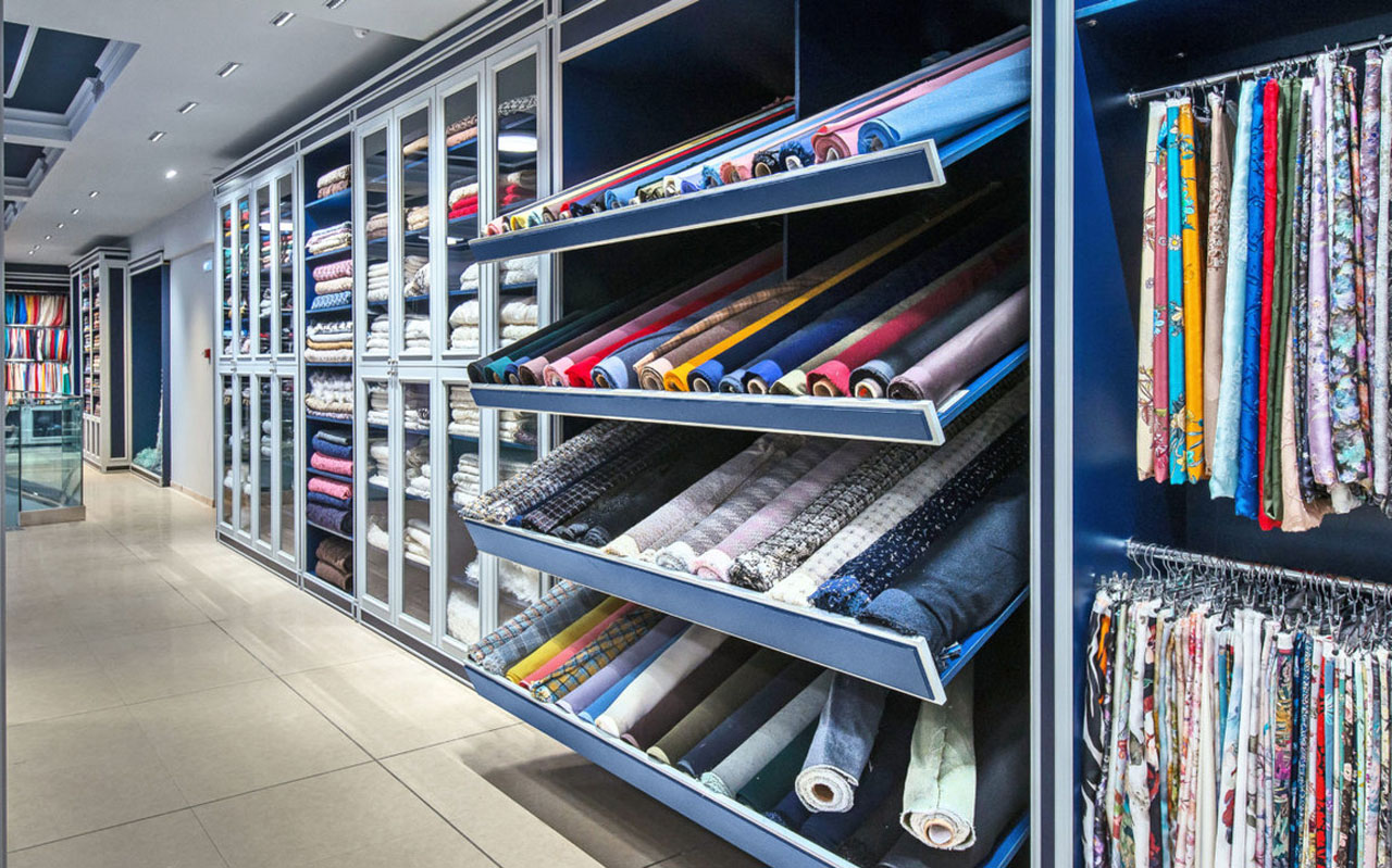 Neko's Fusion Linear System in a retail fitout