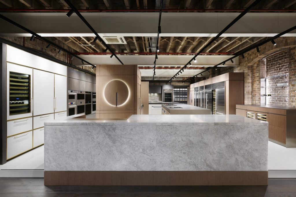 Vibia Guise and Arkoslight Fit at Sub-Zero Wolf Sydney